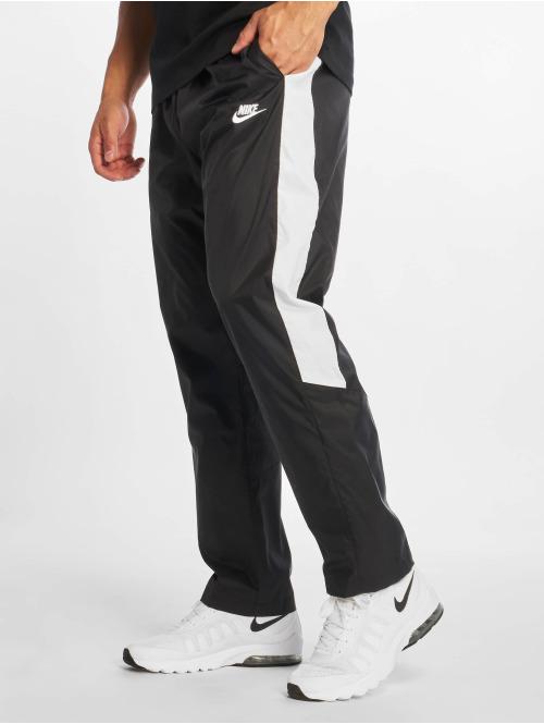 3d69987d62877 Nike Oh Woven Core Track Pants Black/White/White