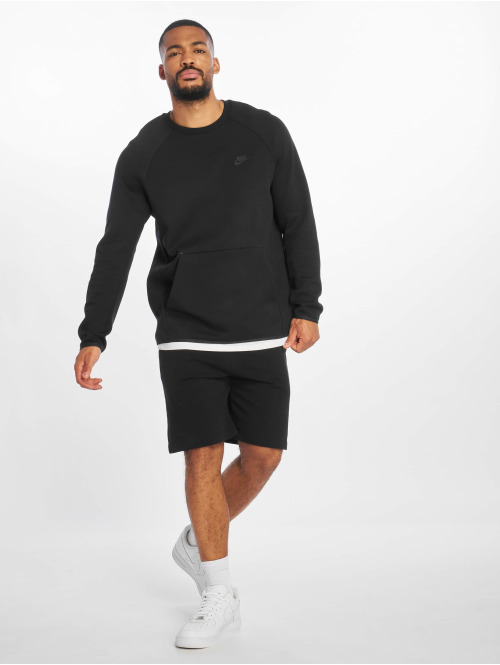 Nike Longsleeve Sportswear Tech Fleece Longsleeve schwarz