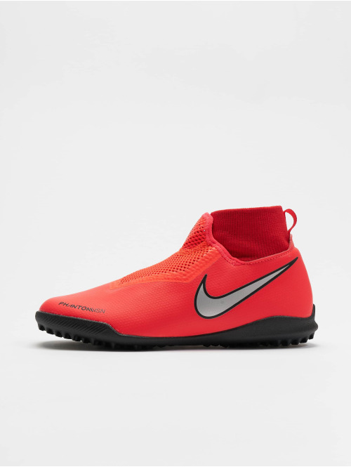 Nike Performance Outdoorschuhe Junior Phantom Vision Academy DF TF rot