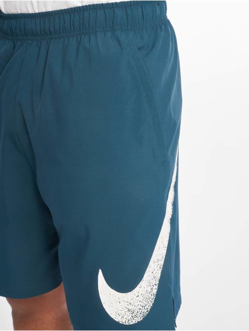 Nike Performance Shorts Flex Short Wooevn 2.0 GFX 1 türkis