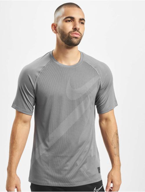 Nike Performance T-Shirt Mesh Pro grau