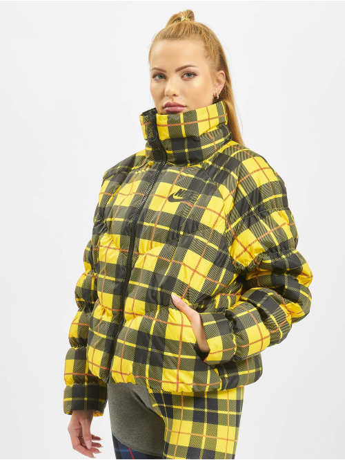 Nike Puffer Jacket Synthetic Fill AOP PD gelb