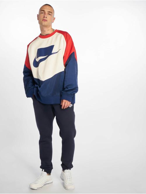 Nike Pullover Crew Woven blau
