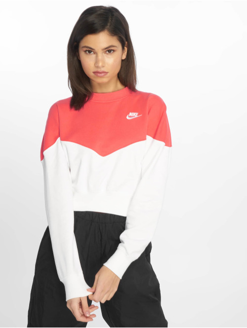 Nike Pullover Block weiß