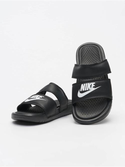 Nike Sandalen Benassi Duo Ultra Slide schwarz