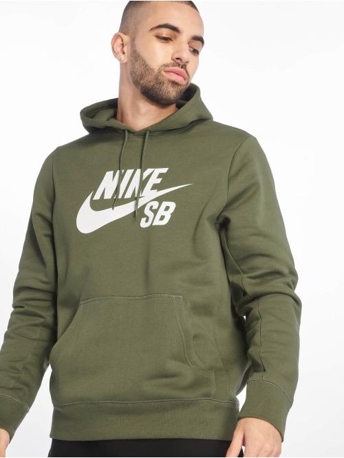 Nike SB Hoody SB Icon Hoodie Essential olive