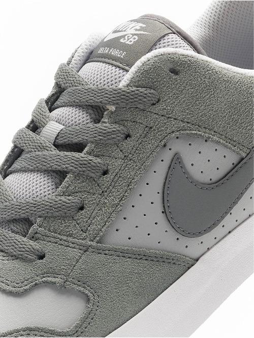 Nike SB Sneaker SB Delta Force Vulc Skateboarding grau