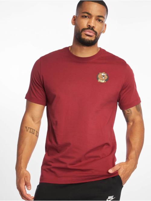 Nike SB T-Shirt SB Gopher T-Shirt Team rot