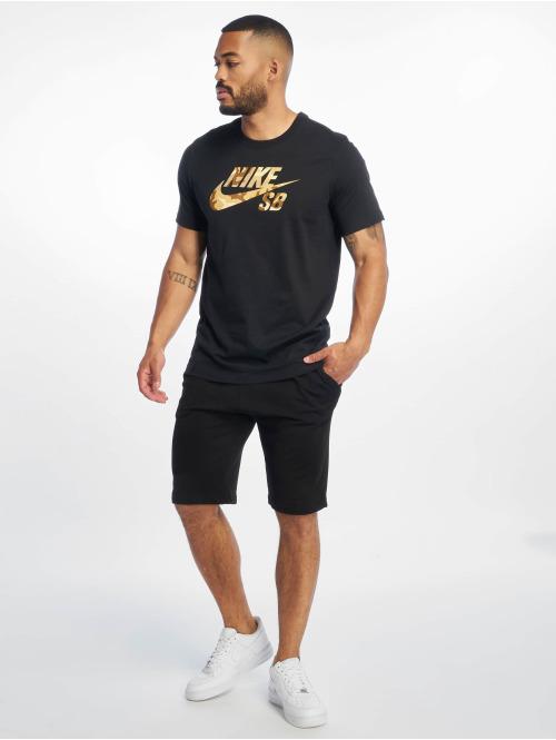 Nike SB T-Shirt SB  Logo Snsl 2 schwarz
