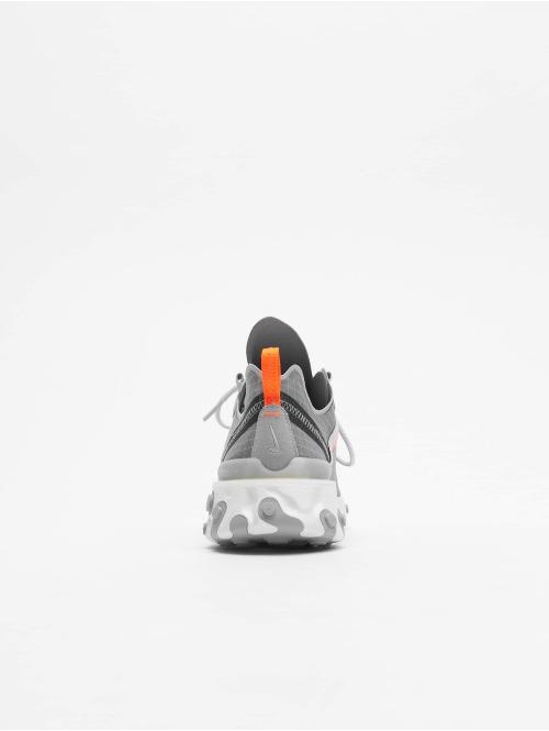 Nike Sneaker React Element 55 grau