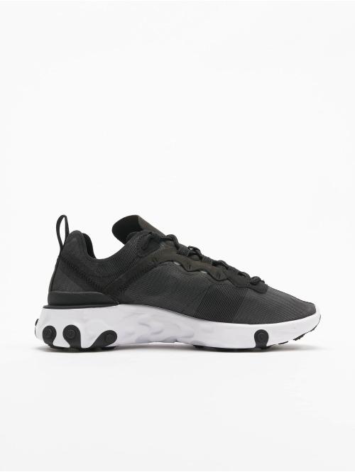 Nike Sneaker React Element 55 schwarz