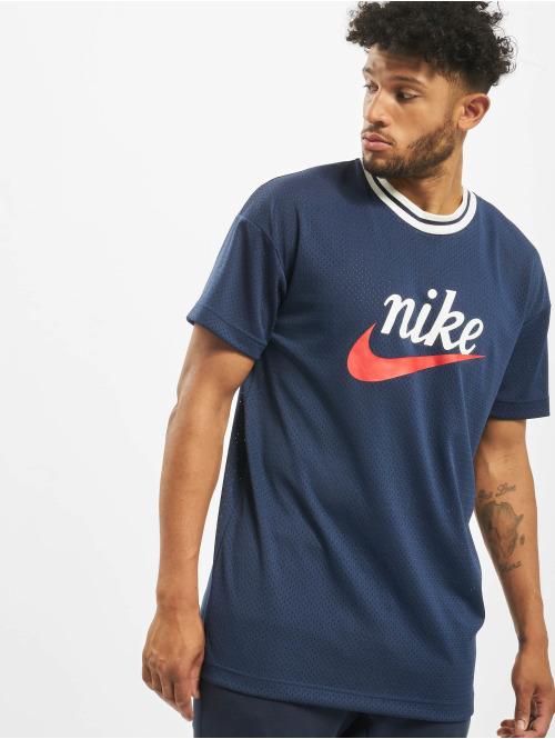 Nike T-Shirt HE Mesh GX blau