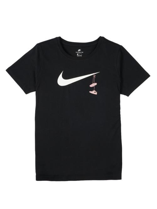 Nike T-Shirt Tee Swoosh Shoes bunt