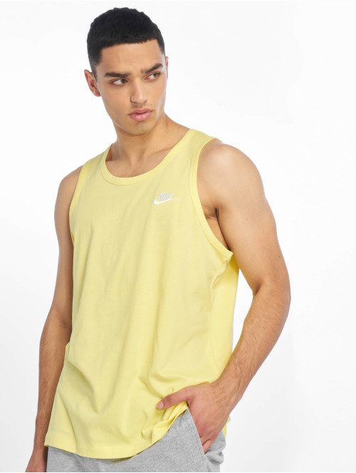 Nike Tank Tops Club Tank Top gelb