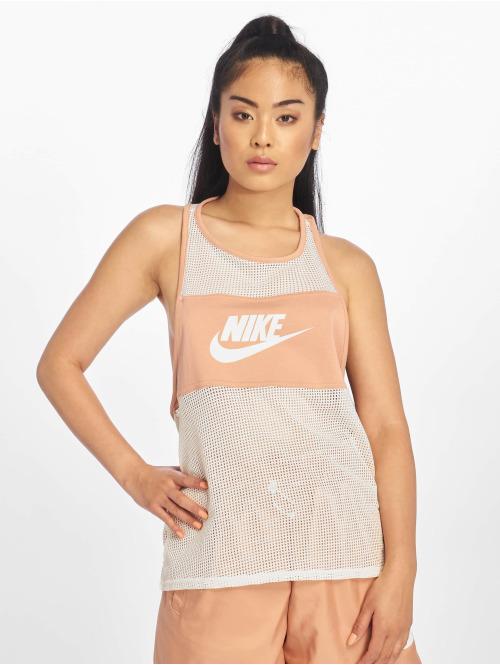 Nike Tank Tops Mesh rosa