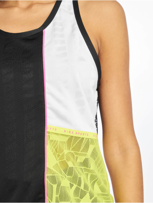 Nike Tank Tops Mesh schwarz