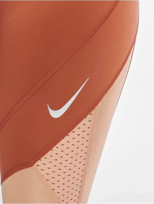 Nike Tights Epic Lux 7/8 Mesh MR orange