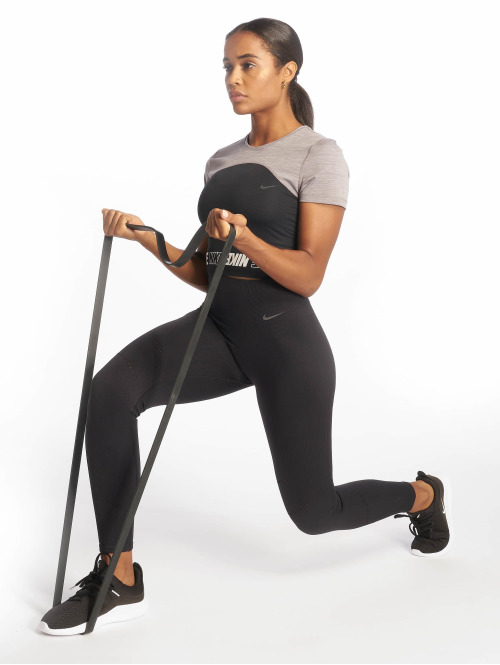 Nike Tights Power Tight Studio Seamless Vnr schwarz