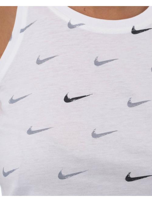 Nike Top Swoosh weiß