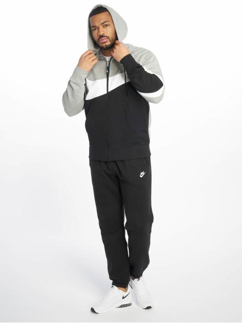 Nike Zip Hoodie HBR FZ FT grau
