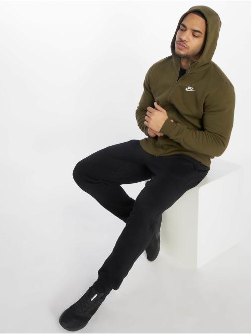 Nike Zip Hoodie Sportswear olive