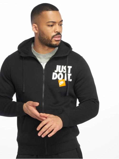 the latest def58 3e9fb Nike JDI FZ Fleece Hoody Black