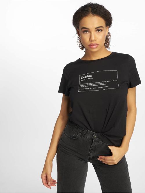 Noisy May t-shirt nmNateure Dictionary zwart