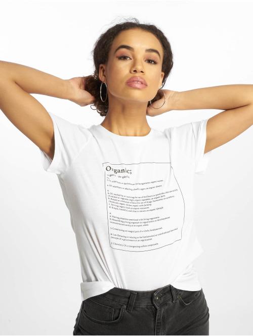 Noisy May T-shirts nmNateure Dictionary hvid
