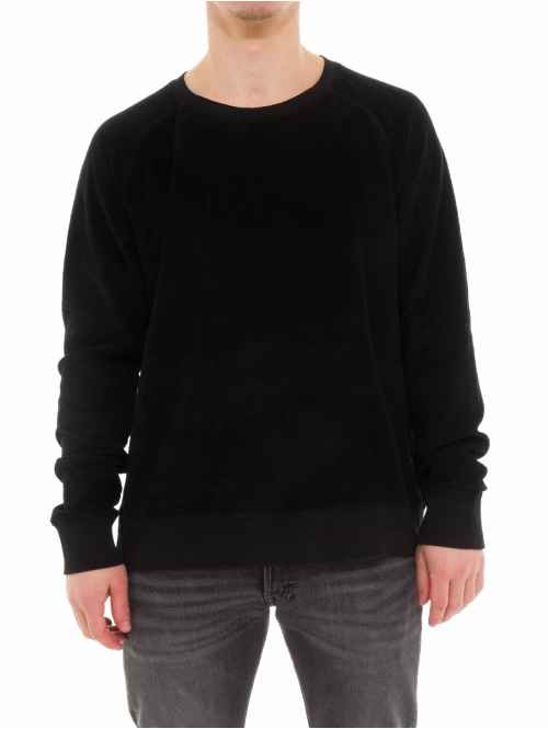 Nudie Jeans Pullover Samuel schwarz