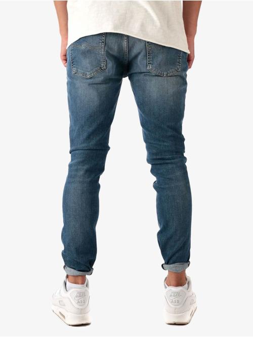 Nudie Jeans Skinny Jeans Skinny Lin blau