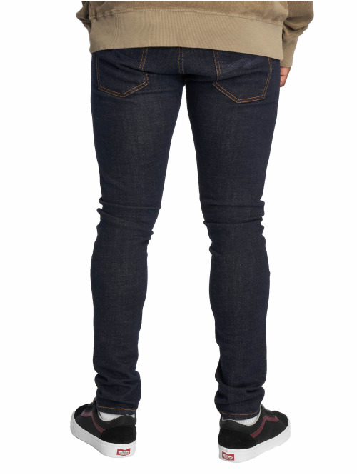 Nudie Jeans Skinny Jeans Tight Terry blau