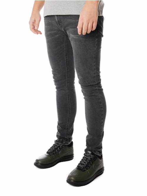 Nudie Jeans Skinny Jeans Skinny Lin schwarz