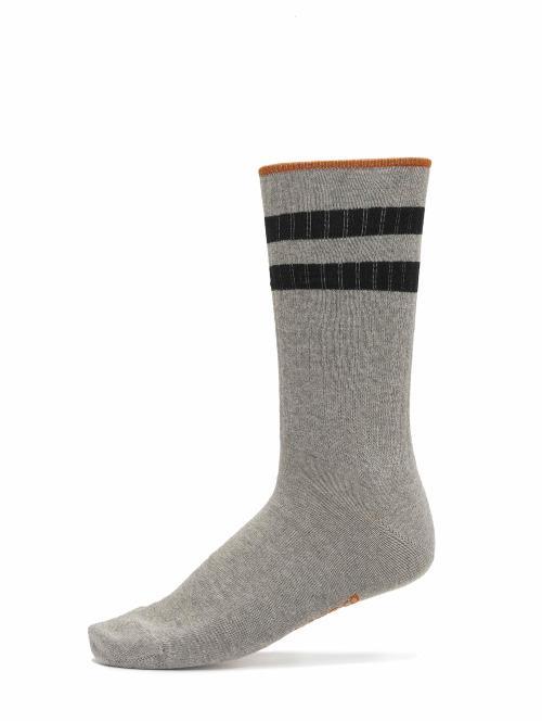Nudie Jeans Socken Amundsson Sport Socks grau