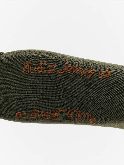 Nudie Jeans Socken Amundsson khaki