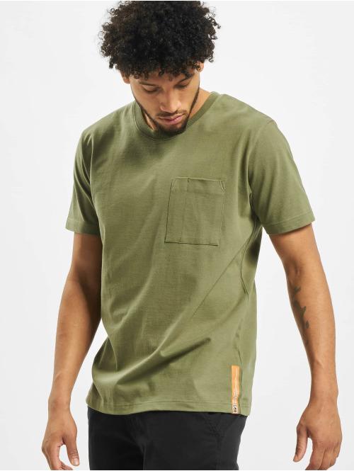 Nudie Jeans T-Shirt Basic grün