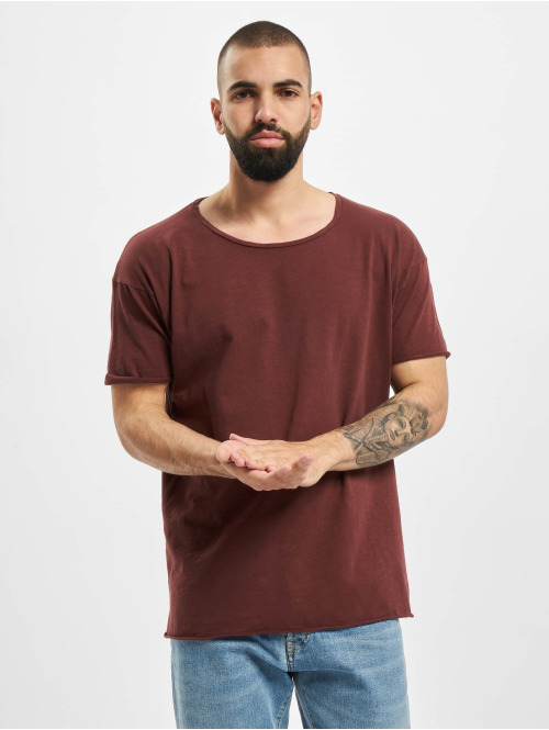 Nudie Jeans T-Shirt Roger rot