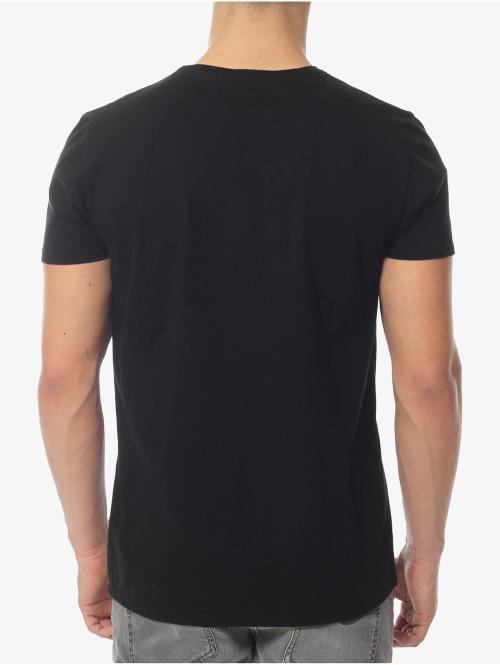 Nudie Jeans T-Shirt Tilted Pocket schwarz