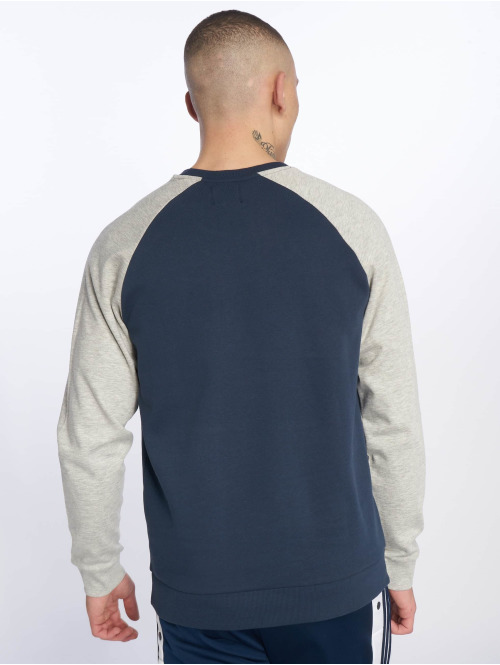 Only & Sons Pullover WFCAMP Raglan Crew blau
