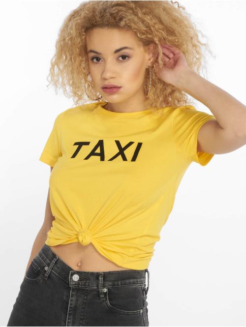 Only T-Shirt onlJob Regular Print Box Co gelb