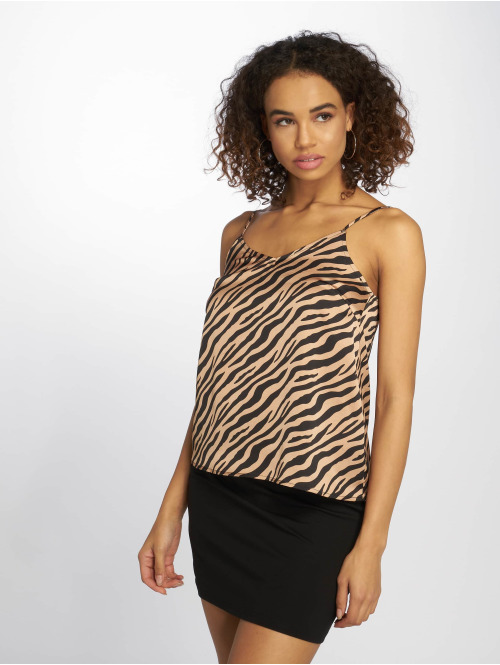 Only Top Onlzebra beige