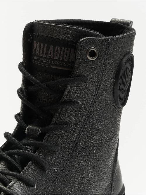 Palladium Boots Pallabosse Off Lea schwarz