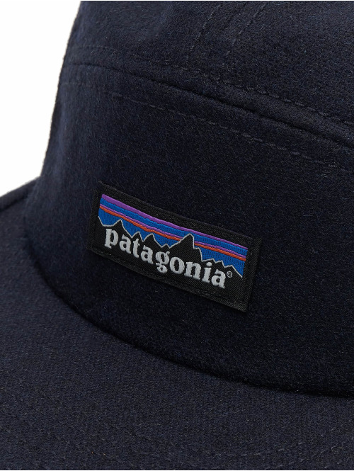Patagonia Fitted Cap Recycled Wool blau