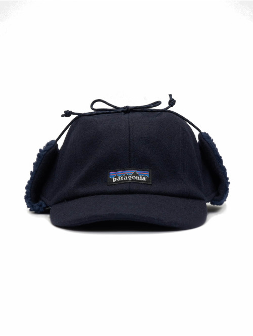 Patagonia Fitted Cap Recycwool blau
