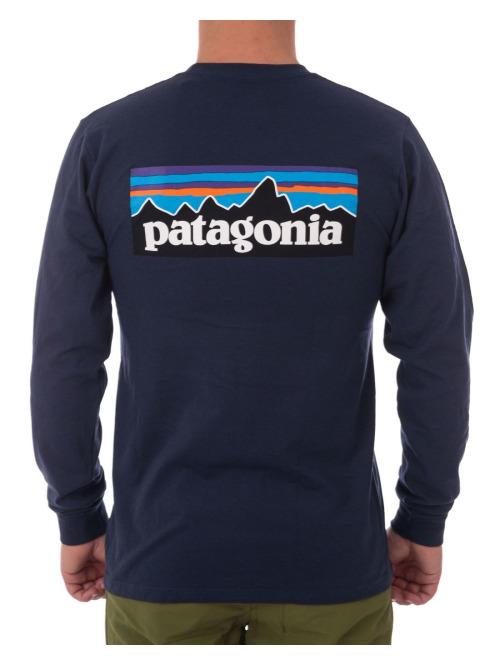 Patagonia Longsleeve  blau