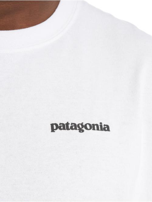 Patagonia Longsleeve M's Tarpon World Trout Responsibili weiß