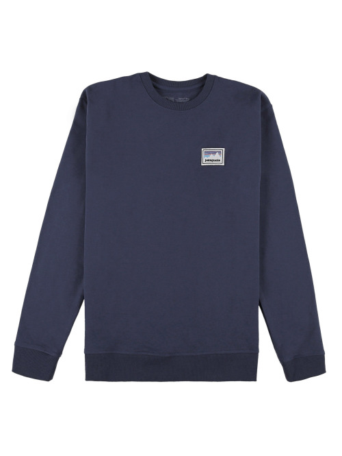 Patagonia Pullover M's Shop Sticker Patch Uprisal blau