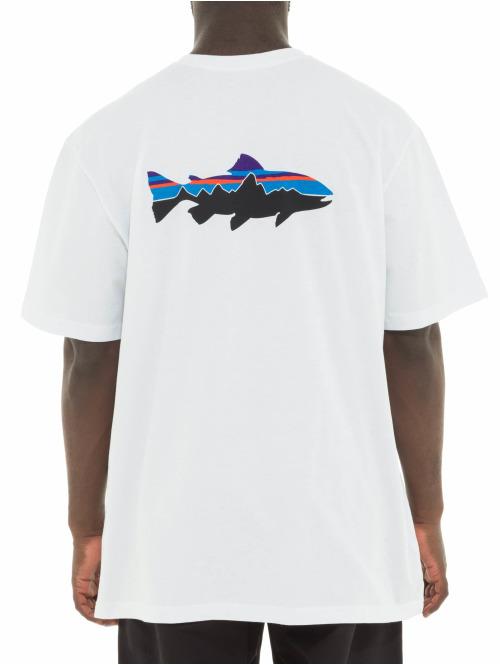 Patagonia T-Shirt Fitz Roy Trout Responsibili weiß