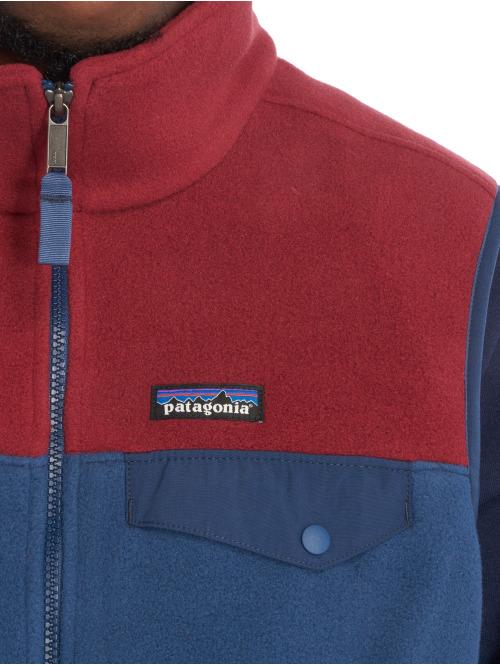 Patagonia Weste M's Lw Synch Snapt blau