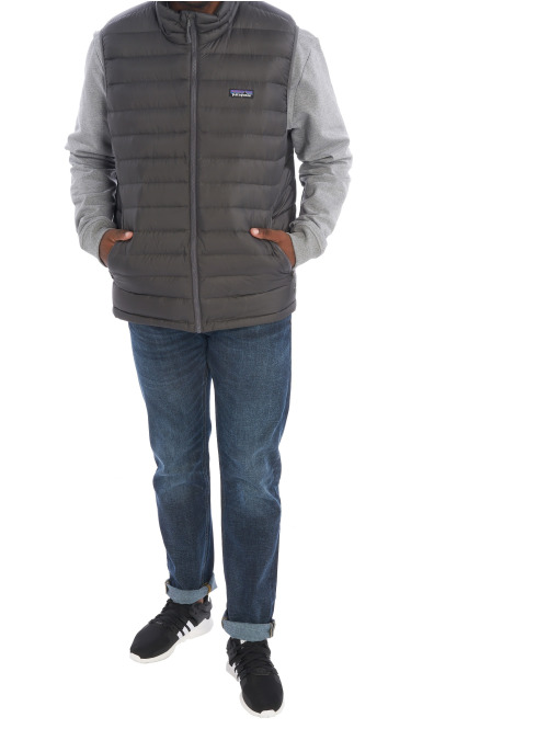 Patagonia Weste M's Down Sweater grau