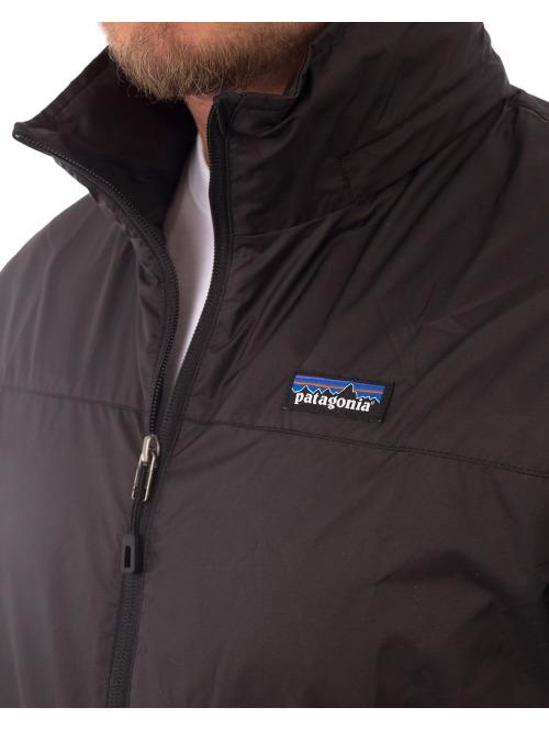 Patagonia Winterjacke Light & Variable Jacket schwarz